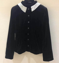 bomber jacket women black jacket lace brand 2017 vintage jacket women