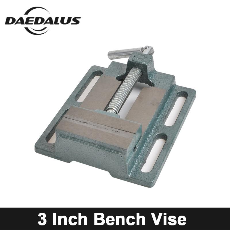 3 pouces banc étau bricolage Mini Table étau Table de travail manuel perceuse bois routeur outils pour Miiling graveur Machine