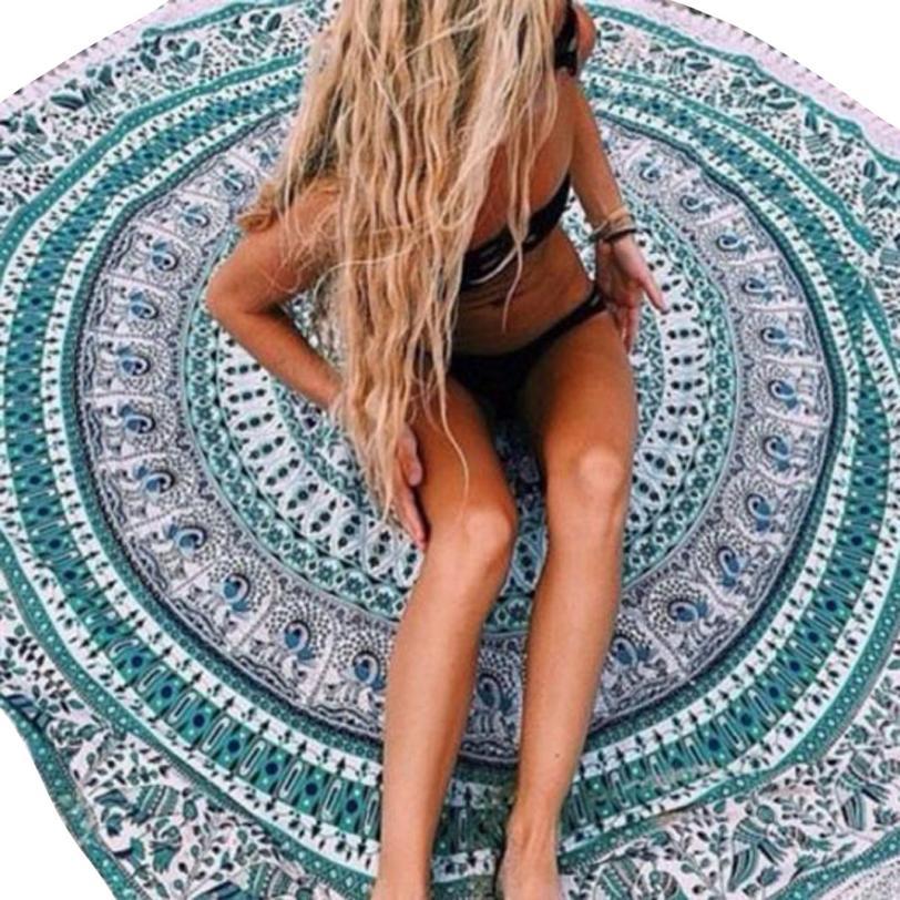 Black Friday VOT7 vestitiy 148cmX148cm Beach Cover Up Bikini Boho Summer Dress Swimwear Bathing Suit Kimono Tunic,Aug 11