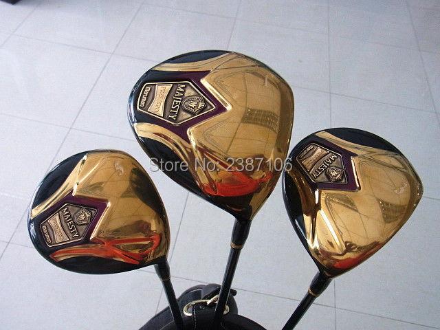 Playwell new MAJESTY  prestigio super 7  gold   man golf   full  set   package set   golf club his majesty s dragon