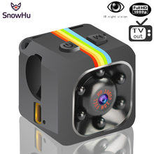 SnowHu Newest SQ11 Mini camera HD 1080P Camera Night Vision Mini Camcorder Micro Cameras Action Camera DV Video voice Recorder(China)