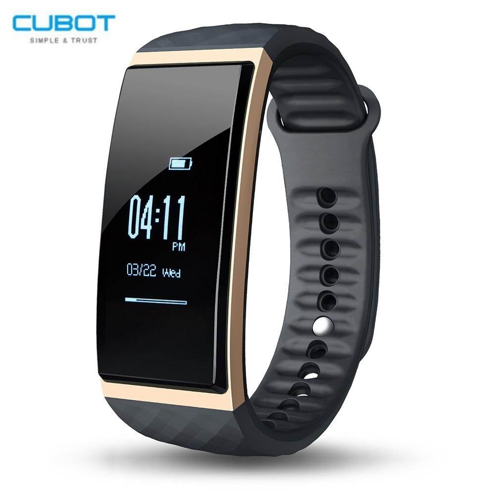 Cubot S1 Sport Smartband della Frequenza Cardiaca Bluetooth Remote Camera Sonno Monitor Sedentaria Promemoria IP65 Impermeabile Wristband Del Braccialetto