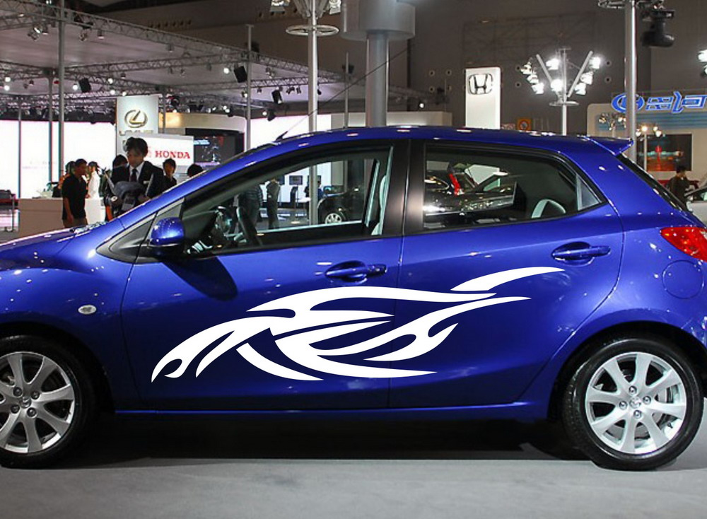 Popular car tribal decals buy cheap car tribal decals lots for Vinyl window designs ltd complaints