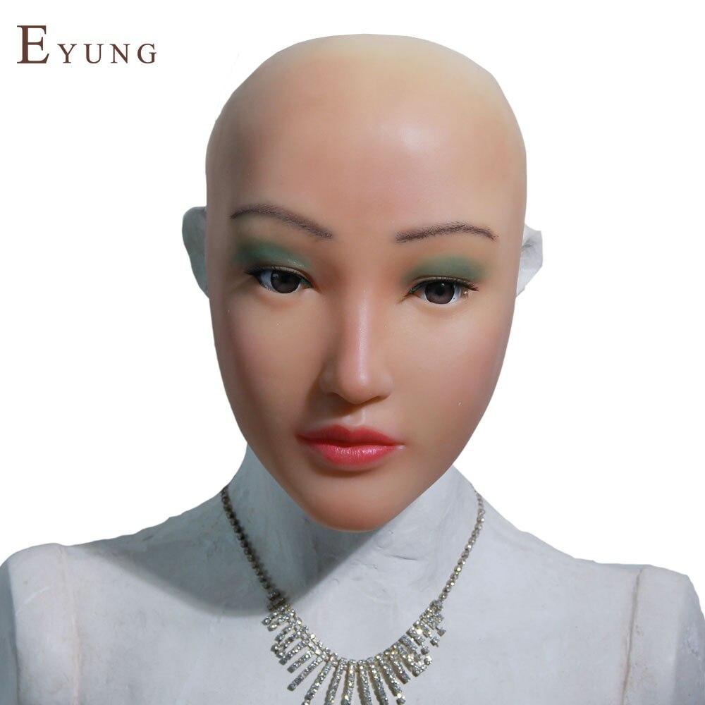 EYUNG-M-N2 free shipping Sophia angel face Halloween masquerade crossdresser shemale drag queen Tender props ladyboy angel face angel m