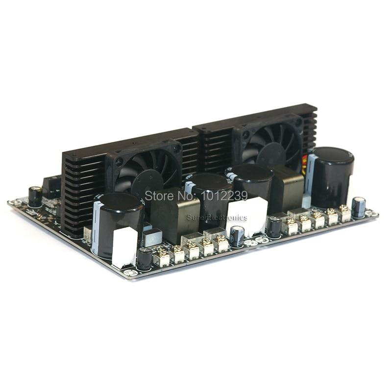 3000W Class D power amplifier / single / dual-channel  / digital amplifier-2X1500W  IRS2092/high feedback amplifier board yj 24vdc tda7492 2 0 channel digital amplifier class d 2 50w