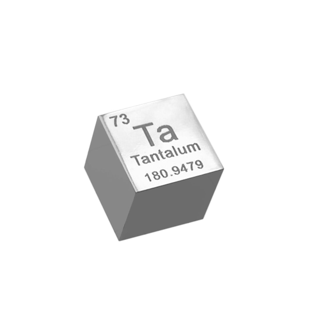 10mm Mirror Polish Tantalum Cube Periodic Table Of Elements Cube(Ta≥99.9%) Hand Made Science Educational DIY Crafts New image