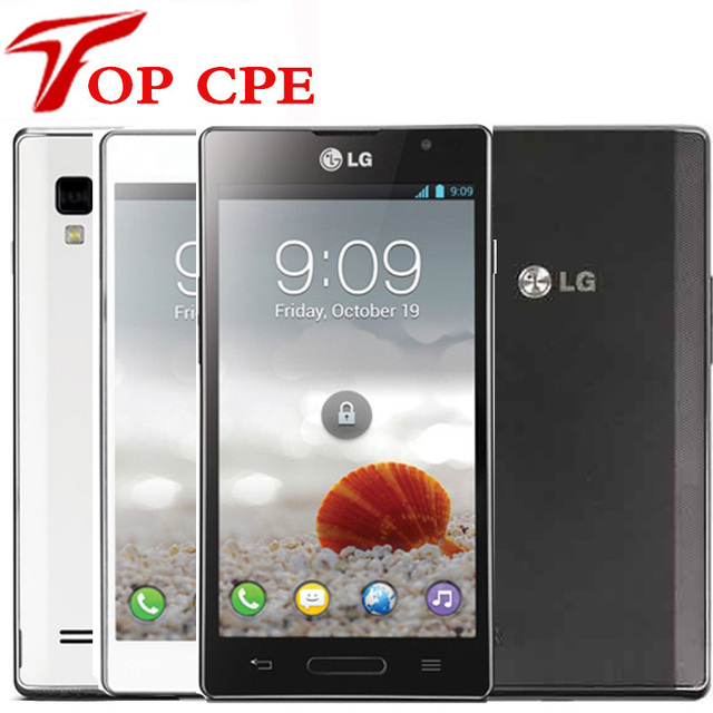 P760 Debloque Original LG Optimus L9 Mobile Telephone Dual Core Android 1 GHz CPU 5MP