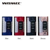 Original WISMEC SINUOUS FJ200 TC Box MOD Built In 4600mAh Battery Max 200W Output 1 3