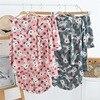 3PC Cute Bunny Print Pajama Set Women Nightwear Summer SleepShirt Vest Short Pants Woman Pijama Set