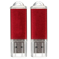 10pcs USB Flash Drive 128 MB Key Chain Flash Memory Drive U Disk For Win 8