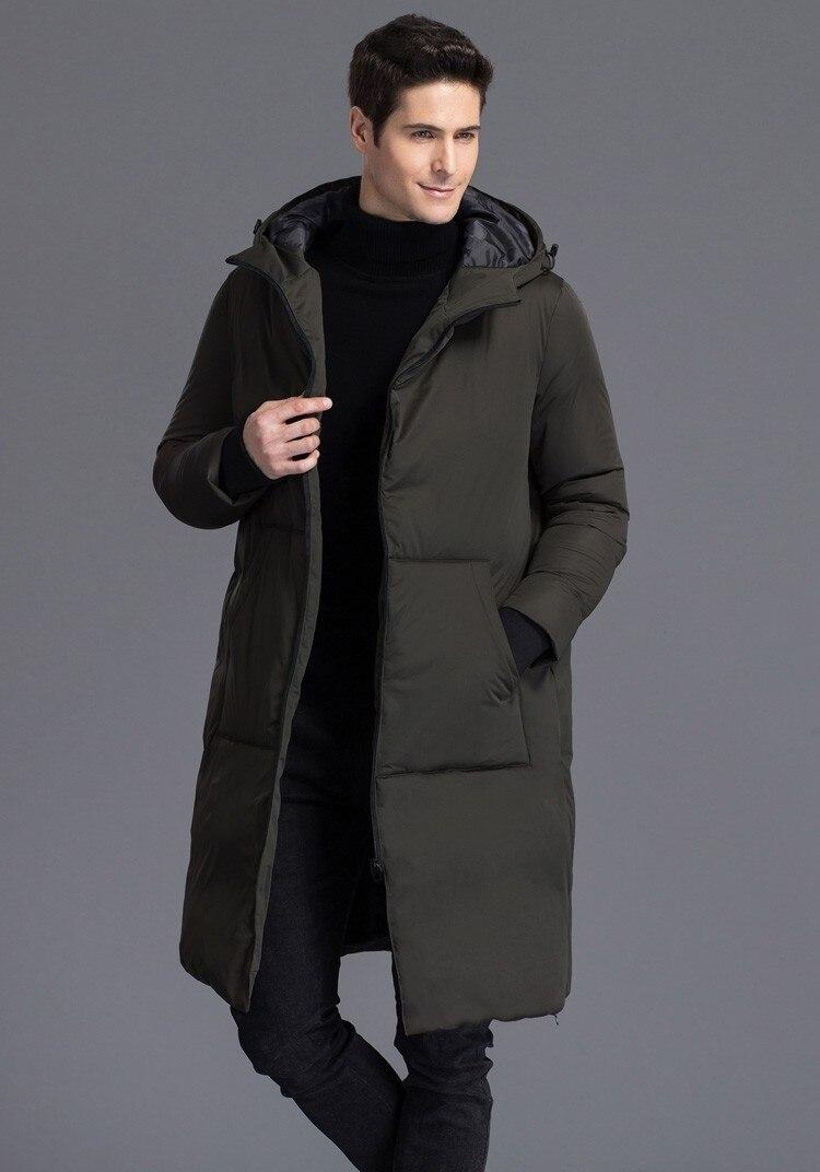 975675b07a4 S 4XL Плюс размер 2016 Зимняя мода мужская 90% duck пуховик марка ...