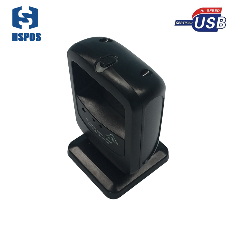 Desktop qr code Scanner 4mil 2D usb Barcode Reader For sale Support Infrared Induction High Speed Image Acquisition And Decoding 1d 2d qr code image barcode scanner scanning barcode for windows vista android ios devices barcode reader usb interface