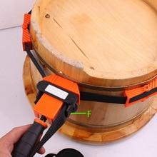 Abrazadera de cinturón de Unión multifunción mango de Nylon TPR poligones ángulo Clip 4 yardas con 4 M cinturones herramienta de carpintería DTT88