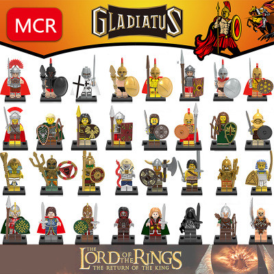HOT The Lord of the Rings Movies Building blocks single little figure doll for children Mini legoing birthday gift Action figure movies of the 2000s bibliotheca universalis