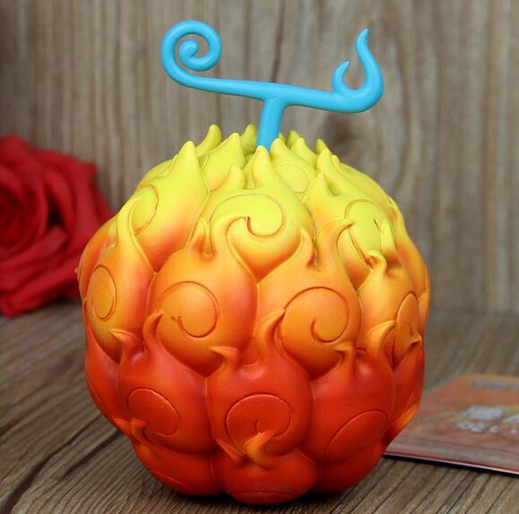 One Piece Devil Fruit Flame-Flame Gum-Gum Ace Luffy Chopper Edward PVC Action Figure