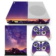 Звездные виниловые наклейки для кожи, протектор для Microsoft Xbox One SLIM и 2 контроллера, наклейки s для XBOX ONE S