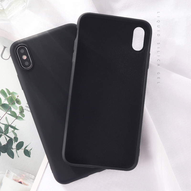Luxury Skin-friendly Liquid Silicone Phone Back Cover Case For Huawei Honor Mobiles 5