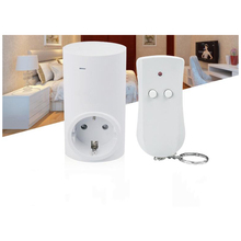Smart EU / UK / USA Plug 1 Wireless Remote Control, 1 Socket Receiver Smart Power Socket Switch Family Electrical Remote
