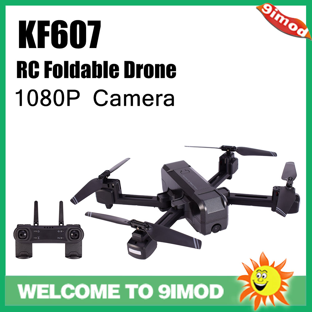 KF607 Quadcopter Optical Flow Pressure Altitude Hold WiFi  Electric Adjustment 1080P 4K HD Camera FPV Drone