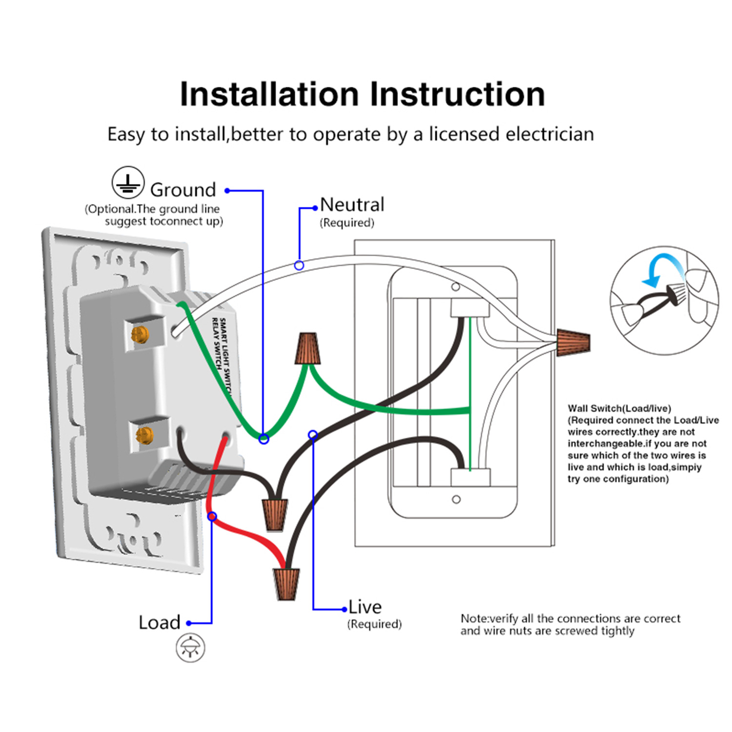Wiring Circuit For Wall Lights
