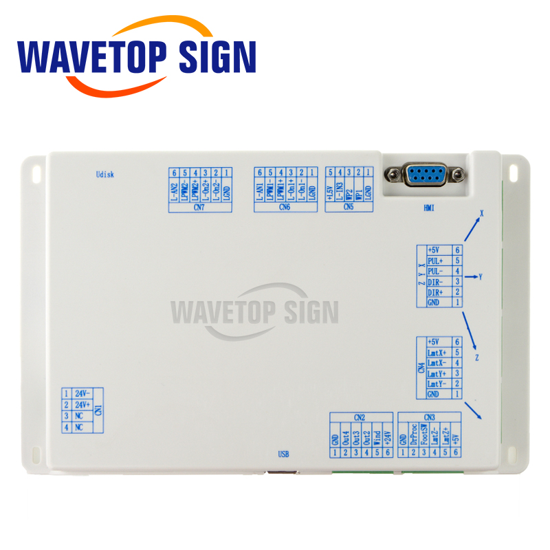 WaveTopSign Ruida RDLC320 A Co2 Laser DSP Controller use for Laser Engraving and Cutting Machine-in CNC Controller from Tools    3