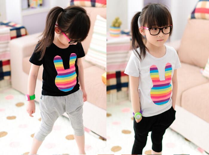 2015 wiosna lato gorąca sprzedaż harem spodnie dzieci moda bawełna - Ubrania dziecięce - Zdjęcie 2