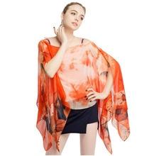 kimono loose cover ups pareos summer swimsuit scarf wrap chiffon polyester silkly kaftan beach bathing suit