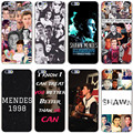 Shawn mendes magcon hard case cubierta transparente para el iphone 7 7 plus 6 6 s más 5 5S sí 5c 4 4S