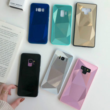 For Samsung Galaxy Note 8 9 Luxury 3D Diamond Glitter Bling Case S7 Edge S8 S9 Plus Shine Crystal Cover Caqa