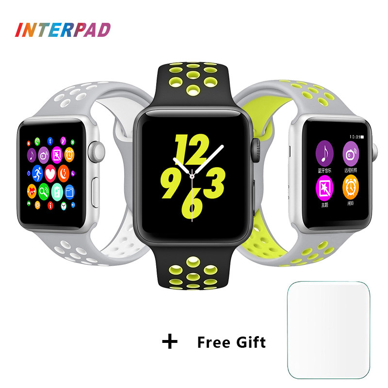 Interpad W52 Smart Watch 1:1 Update Smartwatch For Apple iPhone Android Smart Phone Call Clock Looks Like Apple Watch PK iwo 2 2016 update gv08 smart watch 15 inch 2mp