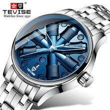 TEVISE Special Design Mechanical Watch Men