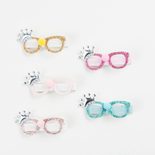 Dog Crown Hair Clips Hairpin Cute Glasses Hairgrips Safety Barrettes BB Clip Little Girls Gifts Kids Accessories