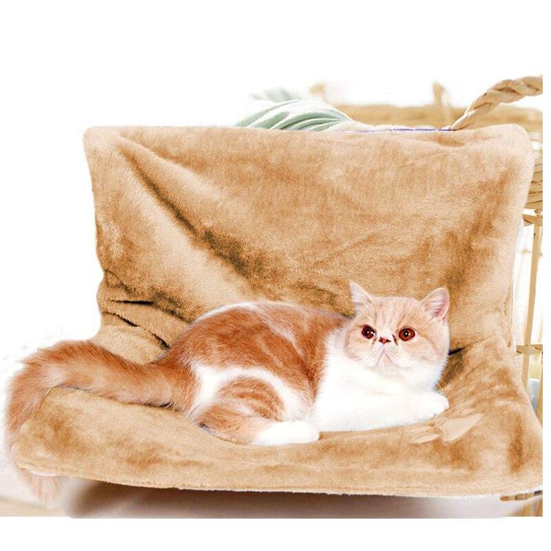 Mascotas ventana gato cama radiador hamaca perca asiento cama hamacas para gato mascota acogedora cama colgante Kitty en casa hamaca sofá