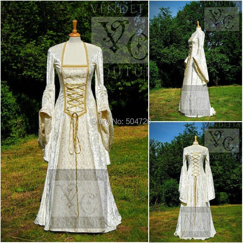 R 555 Vintage Costumes 1860s Civil War Southern Belle Ball wedding Dress/Gothic Lolita Dress Victorian dresses