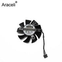 PLA07015B12L-1 65 MM DC 12 V 0.07AMP GTX 1080Ti Soğutma Fanı EVGA GeForce GTX 1080 Ti Için SC2 Hybrid Ekran kart Soğutucu Fanlar