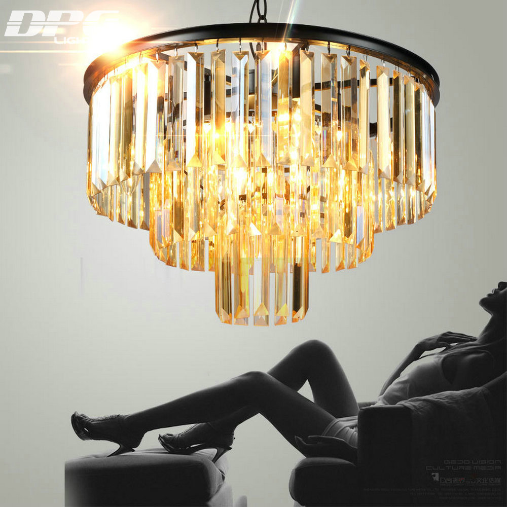 Große kristall-kronleuchter Luxus kristall licht Mode kronleuchter kristall licht Moderne Große kronleuchter