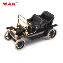 1923 Model T Black 1/43th Alloy Diecast Car Convertible Vehicles & 1:43 Classic Diecast&Plastic Car Model Kids Toy(China)