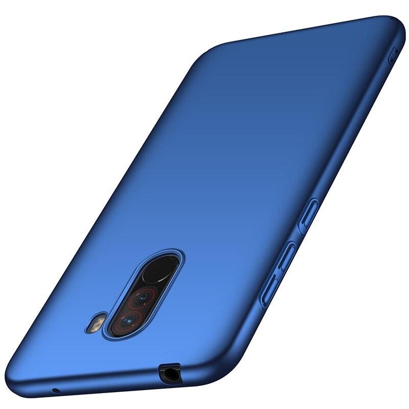 For-Xiaomi-Pocophone-F1-Case-Hard-Matte-Back-Cover-Pocofone-Poco-F1-Slim-Shockproof-Skin-Single (1)