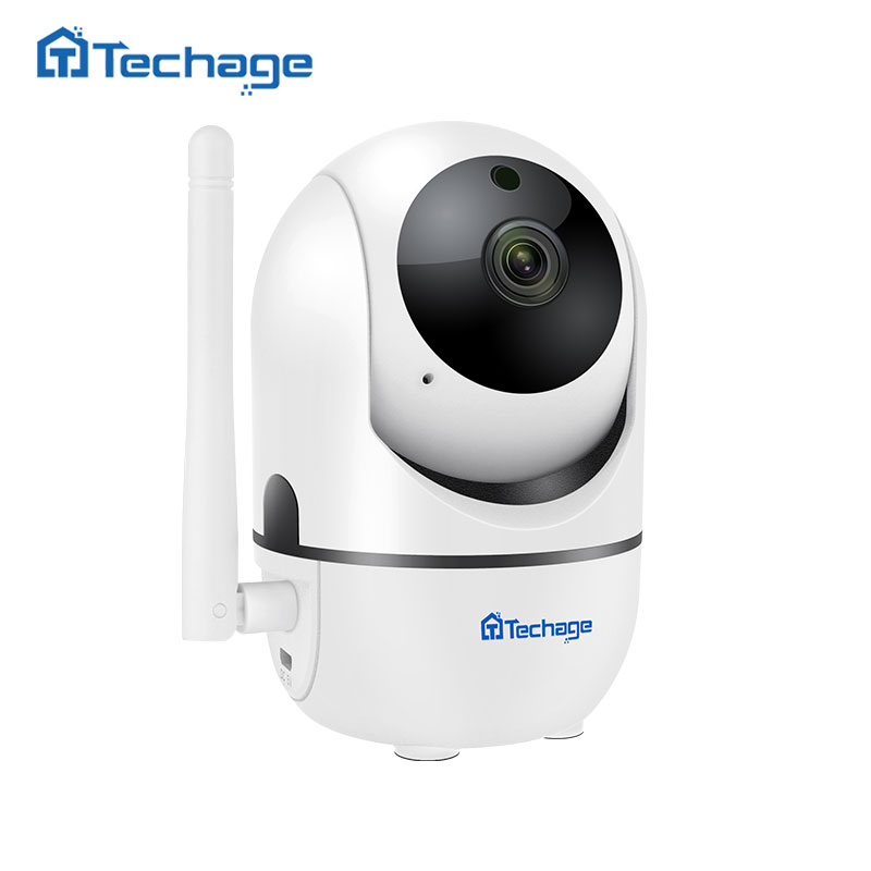 Techage 1080P P2P Cloud Wireless IP Camera Auto Motion Tracking Video Security Surveillance CCTV Mini WiFi Camera Baby Monitor