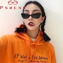 Psacss Cat Eye Sunglasses For Women Retro Luxury Brand Designer Small Sun Glasses Female Vintage Lunette De Soleil Femme Eyewear