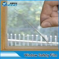 12 Mil Güvenlik Pencere Temizle Güvenlik Film 5ft x 66 ayaklar Rulo