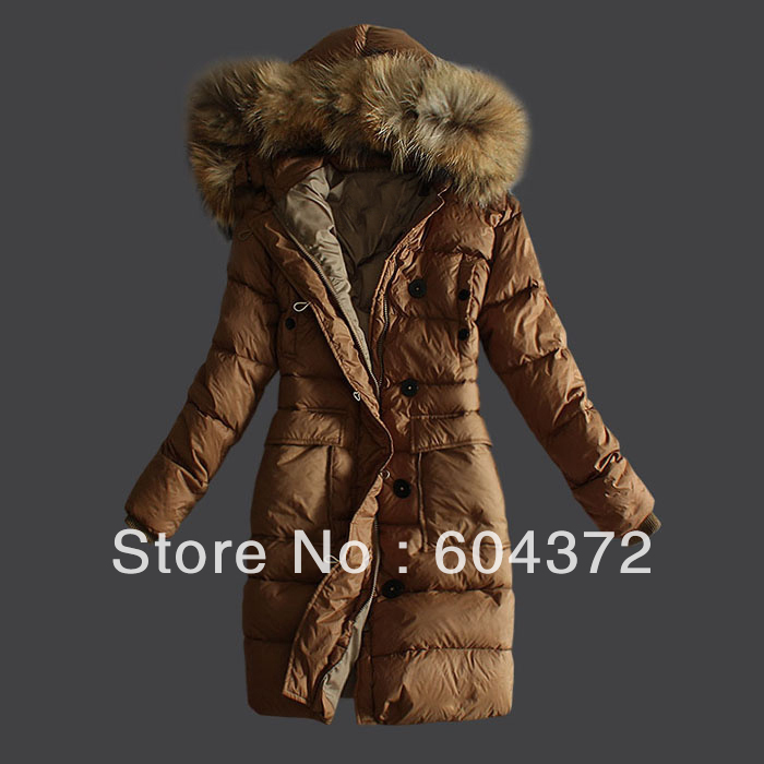 New Arrival Hot Sale Ladies Down Jacket Fur Collar Winter Jacket ...