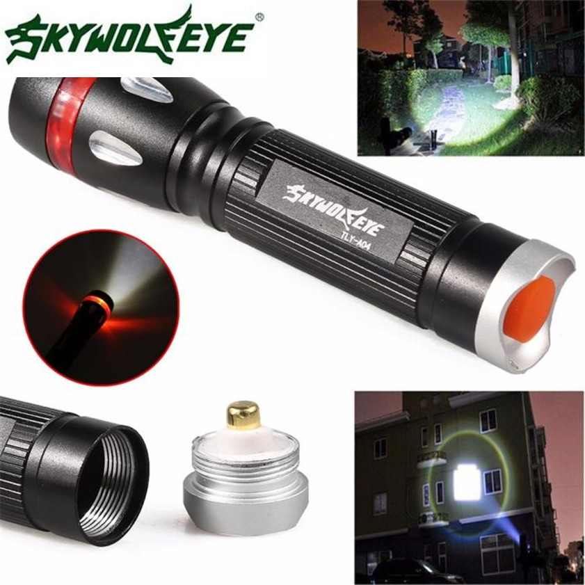 Super 3000 Lumens 3 Modes CREE XML T6 LED 18650 Flashlight Torch Lamp Light Outdoor