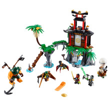 LEPIN Black Widow Island Ninjagoed Marvel Ninja Building Block Model figures Toys Minifigures  Compatible With Legoe