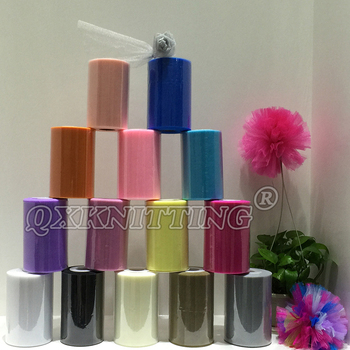 High Quality Polyester Tulle Spool Roll 6 inches 100 yards for DIY Tutu Dress - sale item Festive & Party Supplies