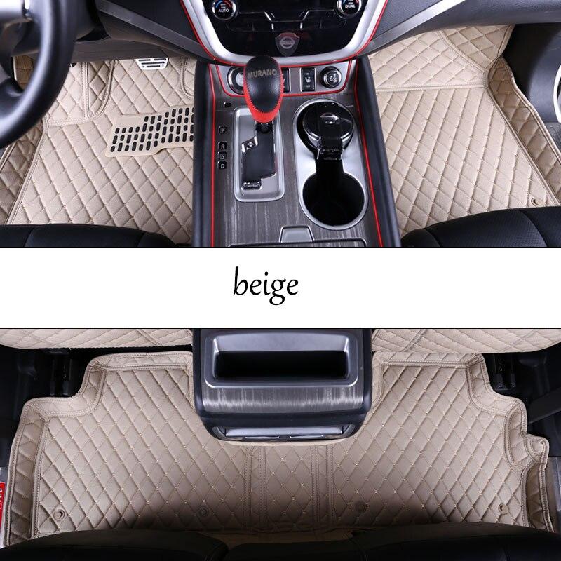 Lsrtw2017 fiber leather car floor interior mat for nissan - Nissan murano 2017 interior colors ...