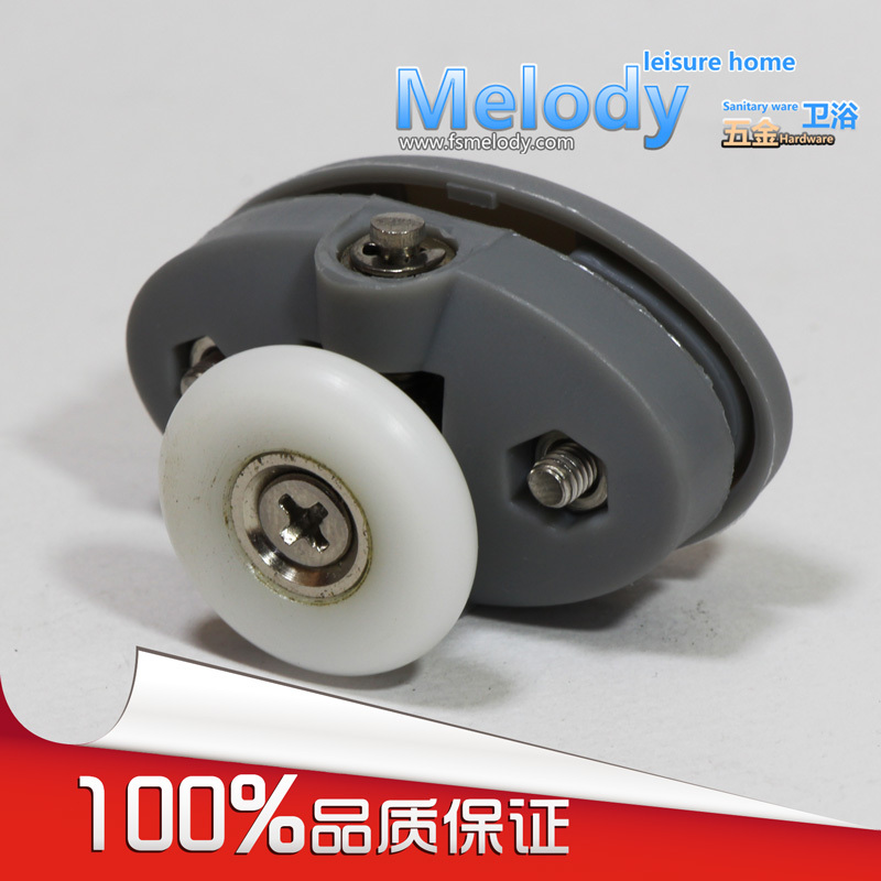 Me-005 Top Single Roller Shower Room Wheel Bath Screen Accessories Bathroom Fittings
