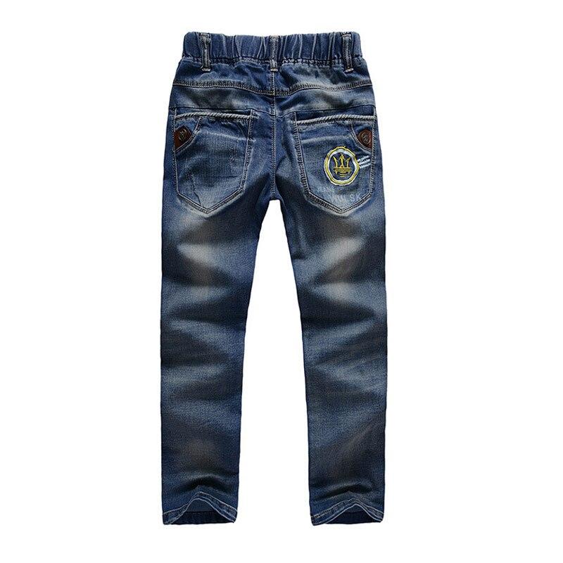 Big Boys Jeans Kids Pants Children Trousers Korean Kids Clothes Boy Jeans Pants Teenage Boy Denim Jeans men s large size jeans wide leg denim pants loose skateboard straight trousers big mens relaxed harem jeans grey blue 30 46