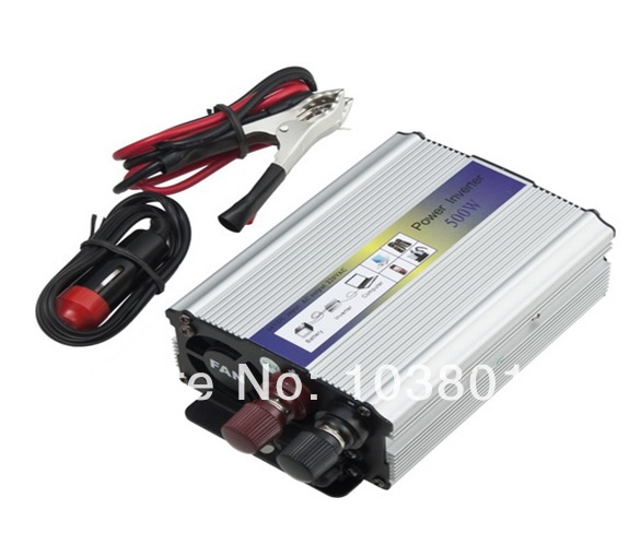 500W-Modified Sine Wave power inverter 500w peak 1000W DC12V to AC 220V dc ac Power Inverter-2