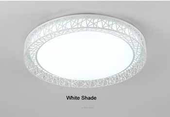 Led Lamp Led Ceiling Light Round 24W 36W 48W AC85~265V Bedroom Ceiling Lamp Modern Indoor Brief Dining Room,Free Shipping